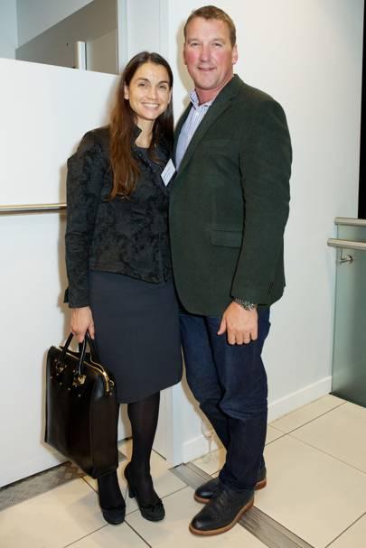 Lady Demetra Pinsent and Sir Matthew Pinsent