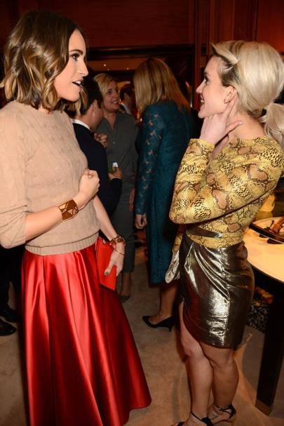 Louise Roe and Ashley Roberts