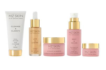 Highlights from the MZ Skin line