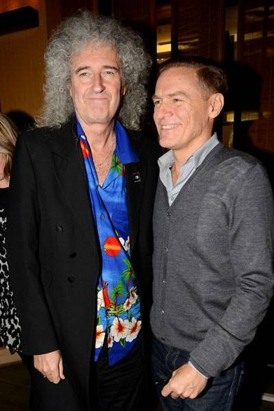 Brian May and Bryan Adams