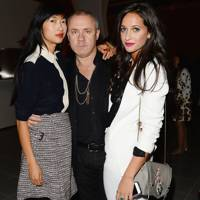 Mimi Xu, Damien Hirst and Roxie Nafousi
