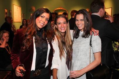 Andrea Biba, Rachelle Lunnon and Lalli Zanni