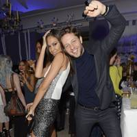 Joan Smalls and Derek Blasberg