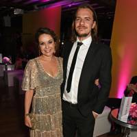 Julia Sawalha and Luke Hollingworth