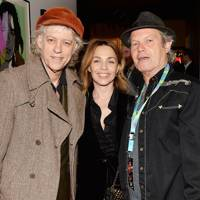 Bob Geldof, Jeanne Marine and Chris Jagger