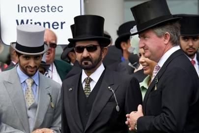 Sheikh Hamden Bin Mohammed Al Maktoum, Sheikh Mohammed Bin Rashid Al Maktoum and John Ferguson
