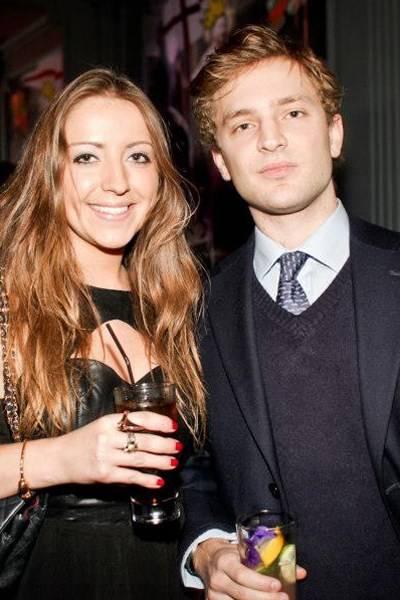 Claire Jamieson and Piers Jamieson