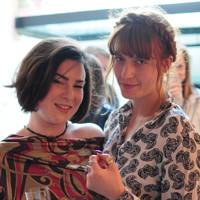 Florence Welch and Rachel Chudley