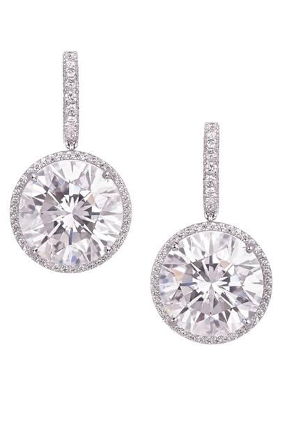 Diamond earrings, POA, Moussaief
