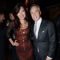 Daisy Lowe and Tommy Hilfiger