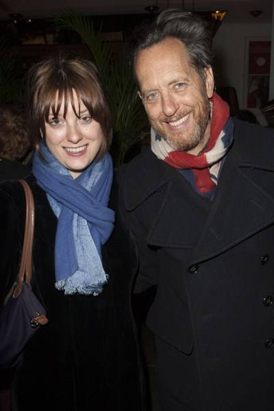 Olivia Grant and Richard E Grant