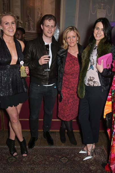 Philippa Durell, Felix Neill, Sacha Forbes and Emily Sheffield