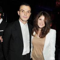 Theo Hutchcraft and Gemma Arterton