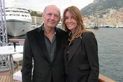Ron Dennis and Carol Weatherall