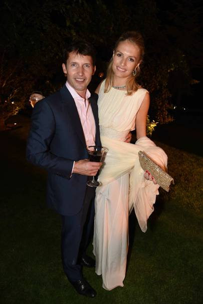 James Blunt and Sofia Wellesley