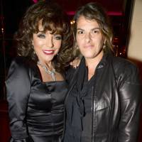 Joan Collins and Tracey Emin