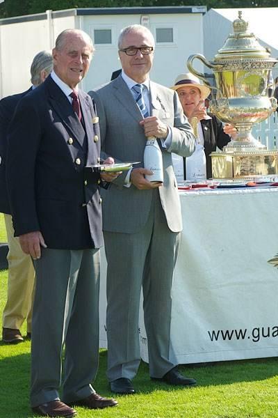 The Duke of Edinburgh and Jon Zammett