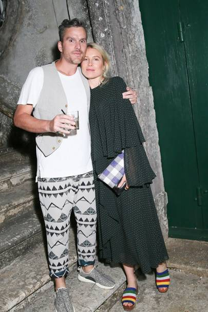 Balthazar Getty and Dree Hemingway