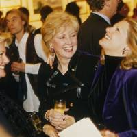 Dawn Perrett, Mrs Edward Cook and Jo Miller
