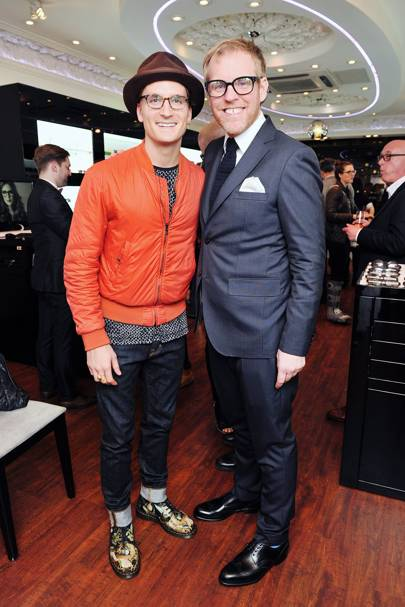 Oliver Proudlock and Tom Davies