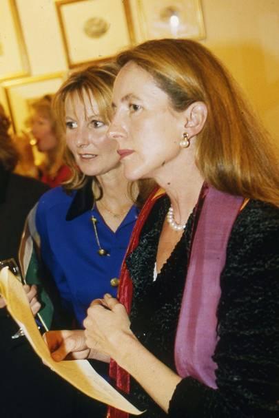 Caroline Eckersley and the Hon Mrs Mark Vestey