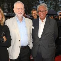 Jeremy Corbyn and Sir David Tang, 2016