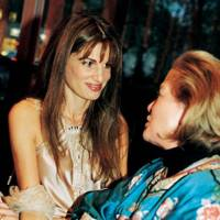 Jemima Khan and Mrs Humphrey Wood