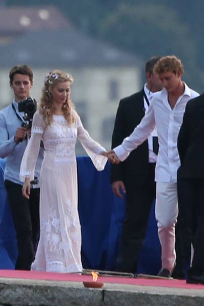 The wedding of Pierre Casiraghi and Beatrice Borromeo, 2015