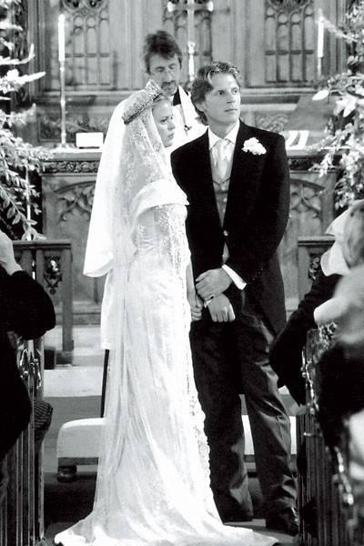 Lady Lucinda Ankarcrona and Edward Ankarcrona