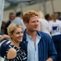 Kate Johnson and James Norton