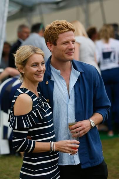 Kate Johnson and James Norton