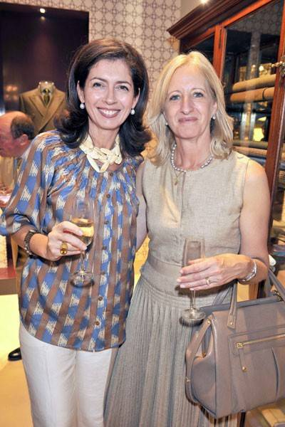 Alix Robson and Patricia Stevenson