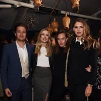 Ally Cordle, Louise Dove, Lady Tatiana Mountbatten and Sabrina Percy