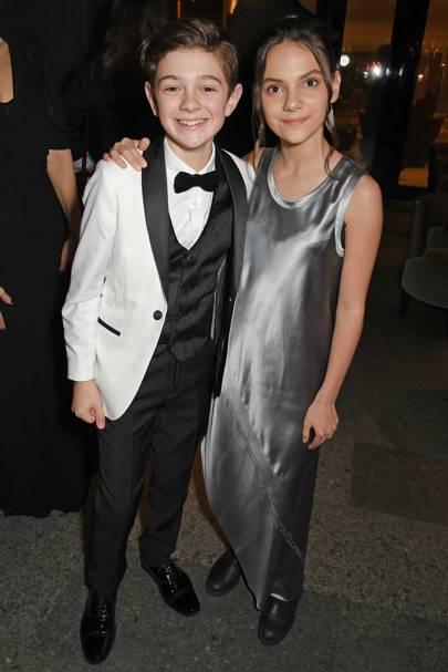Noah Jupe and Dafne Keen