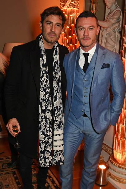 Robert Konjic and Luke Evans