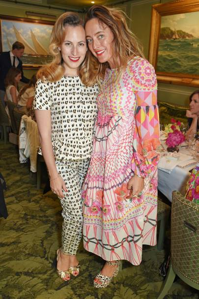 Charlotte Dellal and Alice Temperley