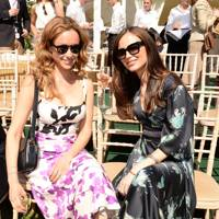 Camilla Al Fayed and Georgina Chapman