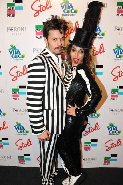 Ben Jaconelli and Serena Mattar