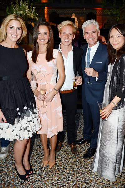 Cheska Hull, Pippa Middleton, Jamie Laing, Phillip Schofield and Ching-He Huang