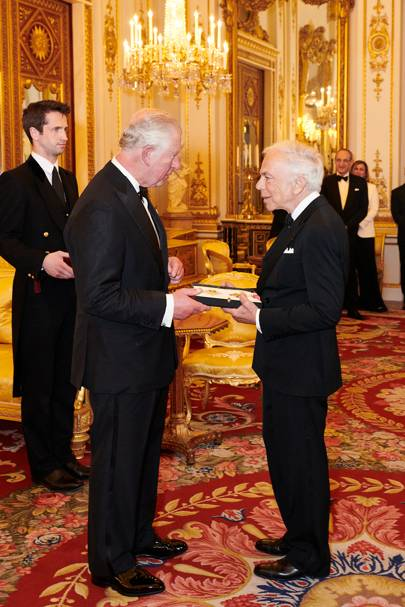 Ralph Lauren is awarded an Honorary UK Knighthood