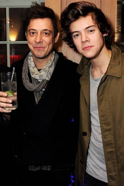 Jamie Hince and Harry Styles