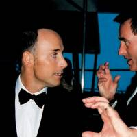 David Furnish and Tim Jefferies