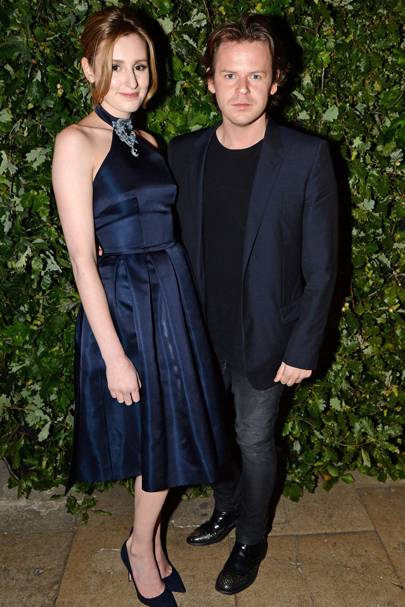 Laura Carmichael and Christopher Kane