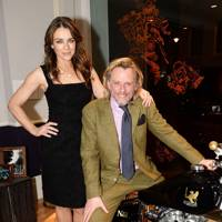 Elizabeth Hurley and Henry Cole