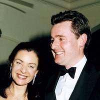 Maria Athena Papathanasiou and Harry Baker