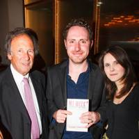 Jeremy Robson, Hugo Rifkind and Olivia Beattie