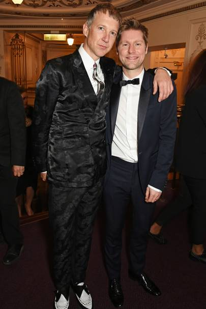 Jefferson Hack and Christopher Bailey
