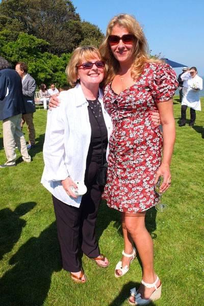 Brenda Blethyn and Tracey Emin