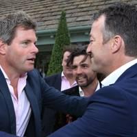 Mark Durden and Jamie Strachan