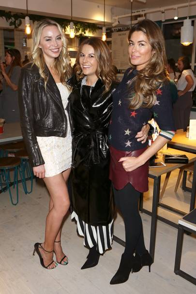 Noelle Reno, Juliet Angus and Sophie Stanbury